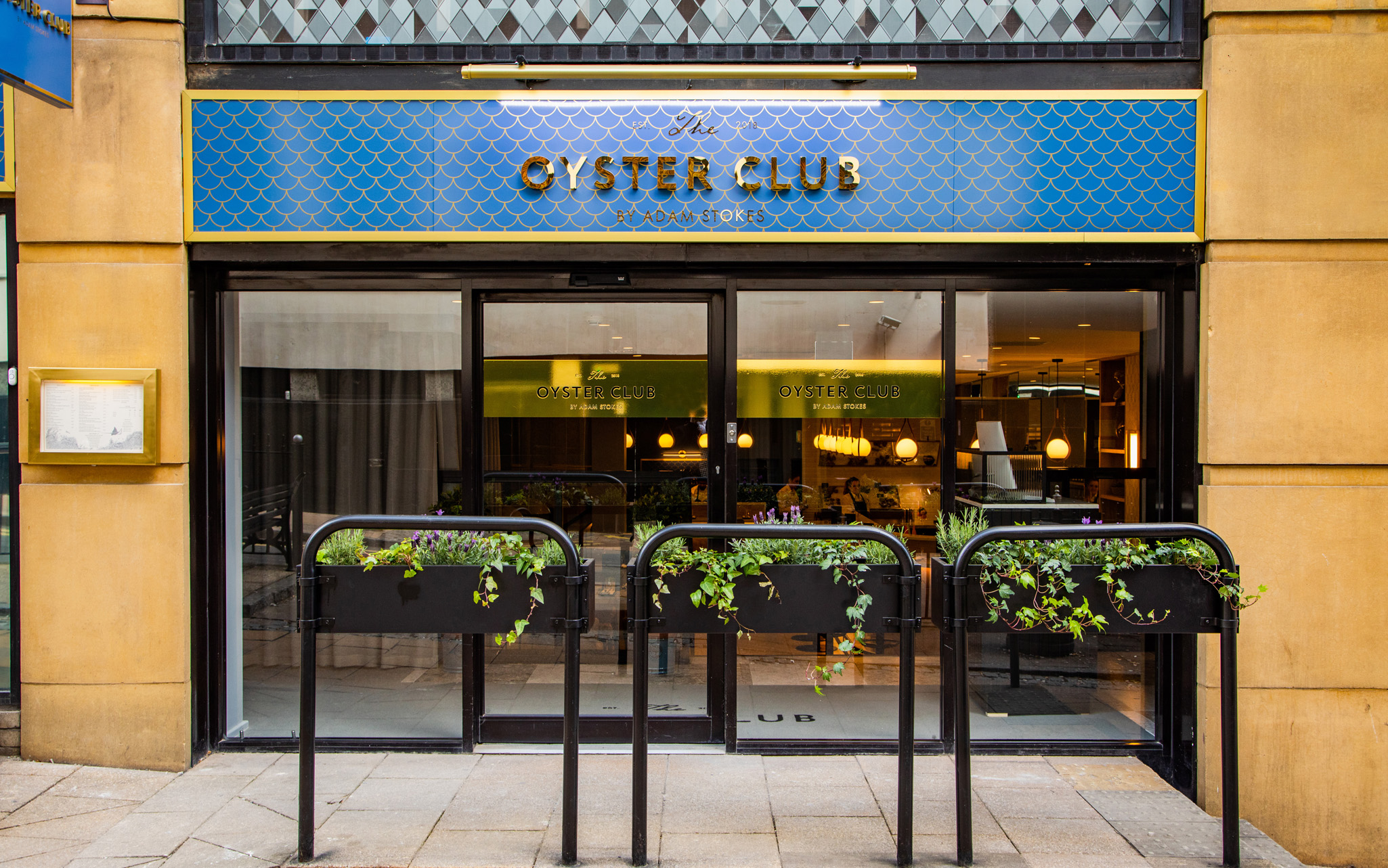 The Oyster Club By Adam Stokes A Casual And Relaxed